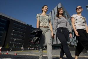 Students at Edinburgh Napier University